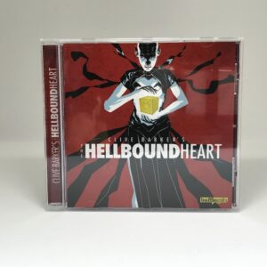 CD case front cover audio play Clive Barker's Hellbound Heart.